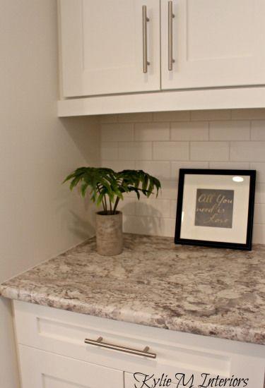 3 kitchen countertop update ideas how to save money subway tile backsplash white subway. Black Bedroom Furniture Sets. Home Design Ideas