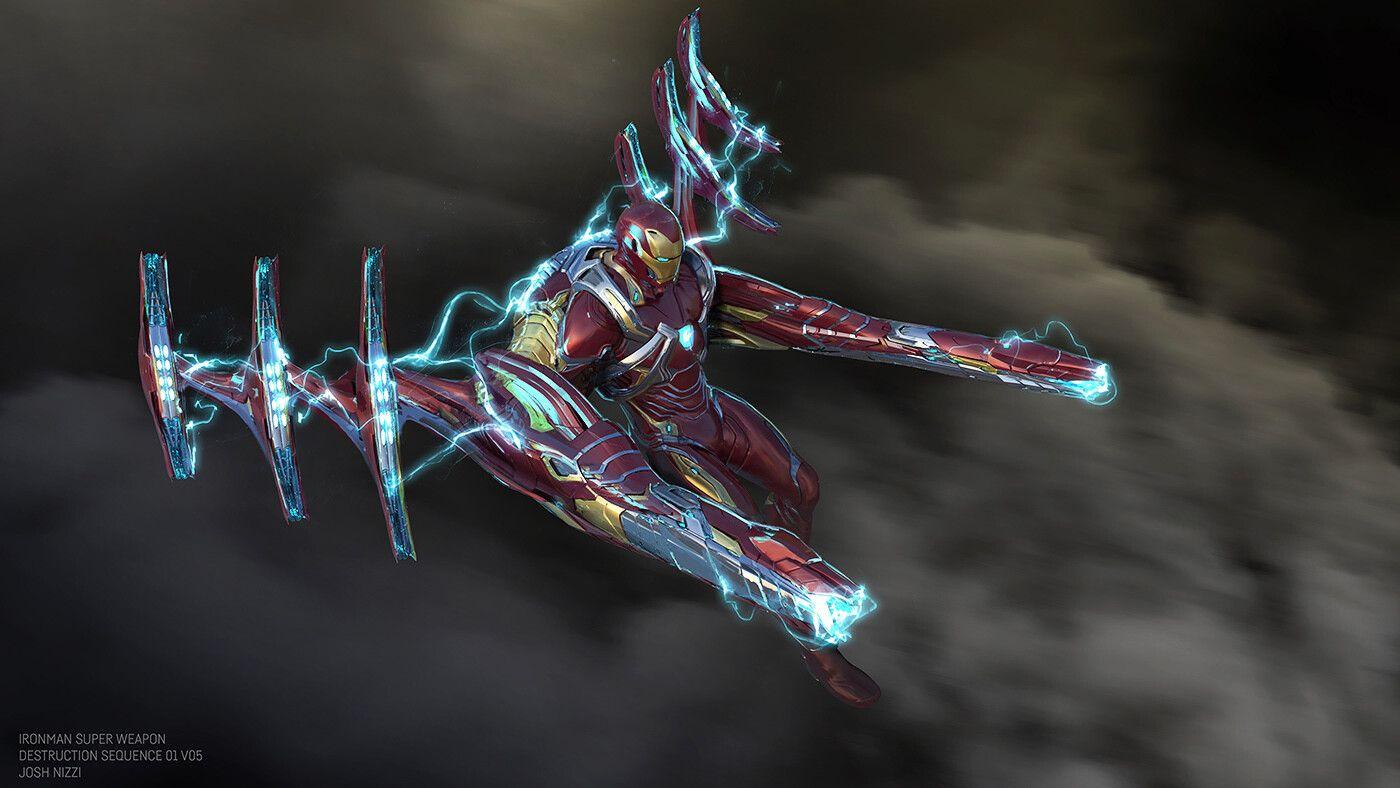 Artstation Avengers Infinity War Iron Man Super Weapon Concepts Josh Nizzi Iron Man Iron Heart Marvel Iron Man Avengers