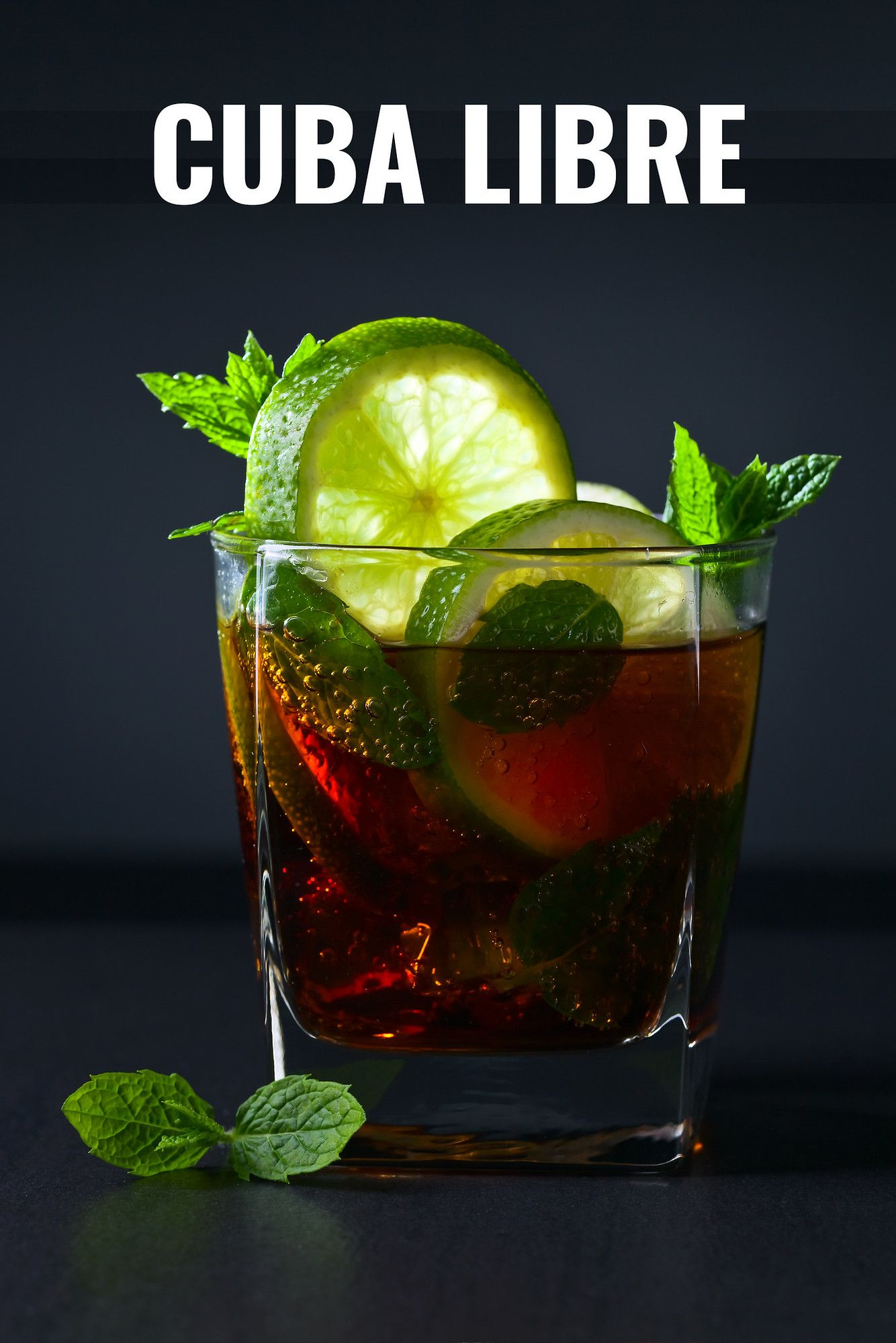 The Cuba libre cocktail isn't just rum and Coke, it also comes with a fascinating history. You'd be surprised who named it and why. #cubalibre