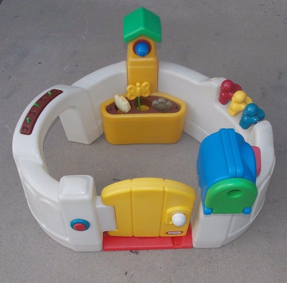 Details about Little Tikes Activity Garden Baby Playset