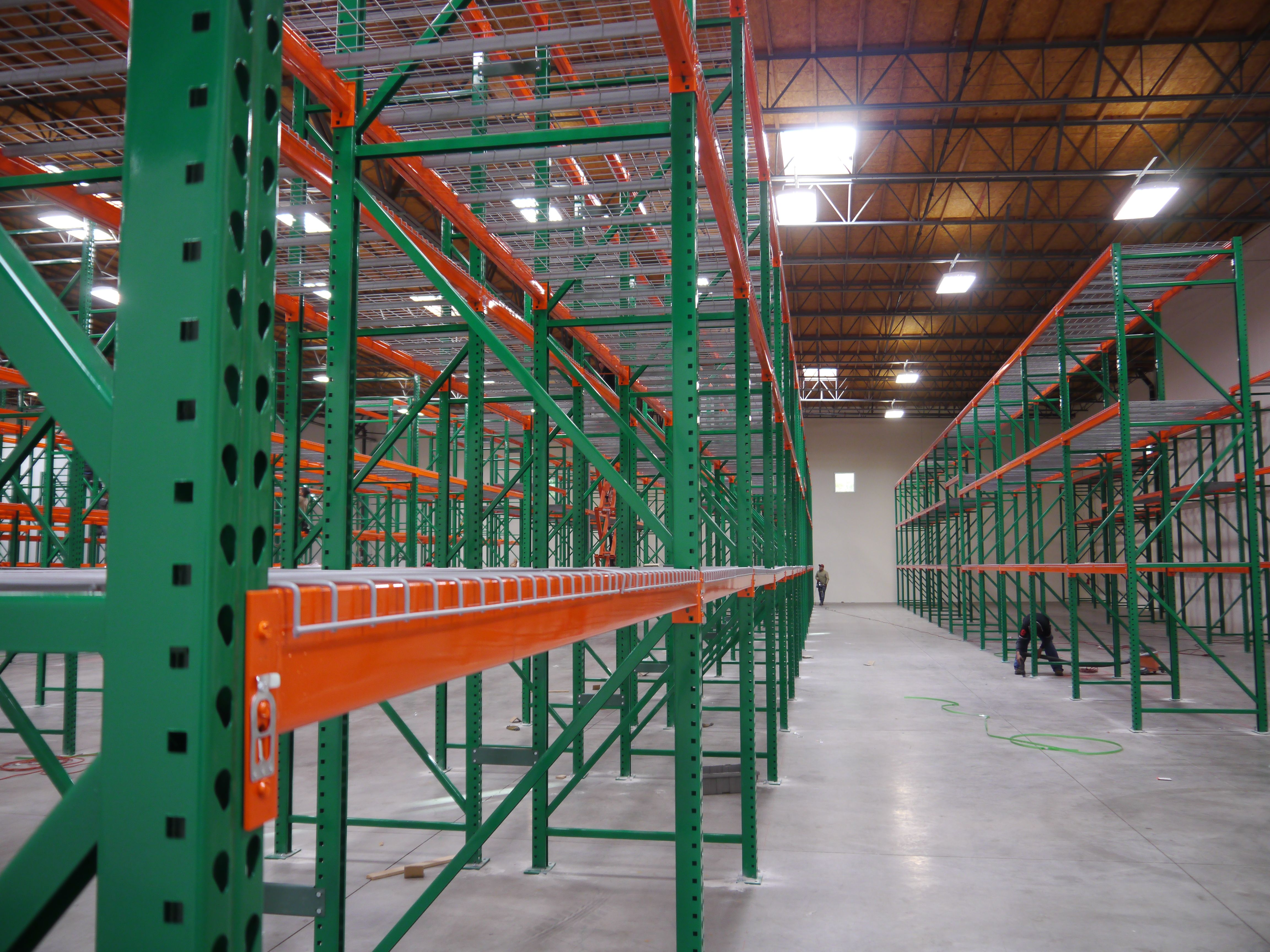 The Machines We Use Can Produce Light And Heavy Duty Pallet Racking Material They Can Make Any Order Size No Matter The Length And Gauge We Have Decades Of E