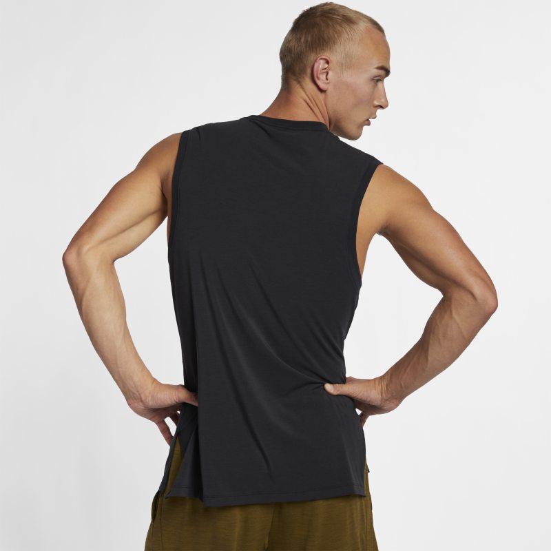 Dri Fit Men S Yoga Training Tank Yoga For Men Mens Fitness Nike Dri Fit