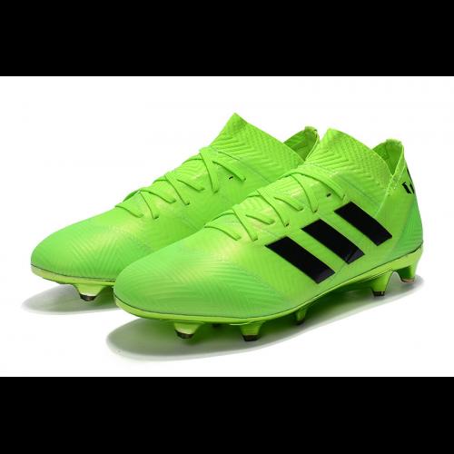 size 40 a402e 20b72 AD Nemeziz Messi 18.1 FG Soccer Cleats-Green