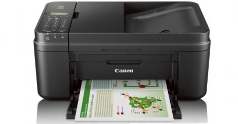 Black Canon PIXMA MX492 Wireless Office All-in-One Inkjet Printer