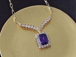 Custom Tanzanite Necklace