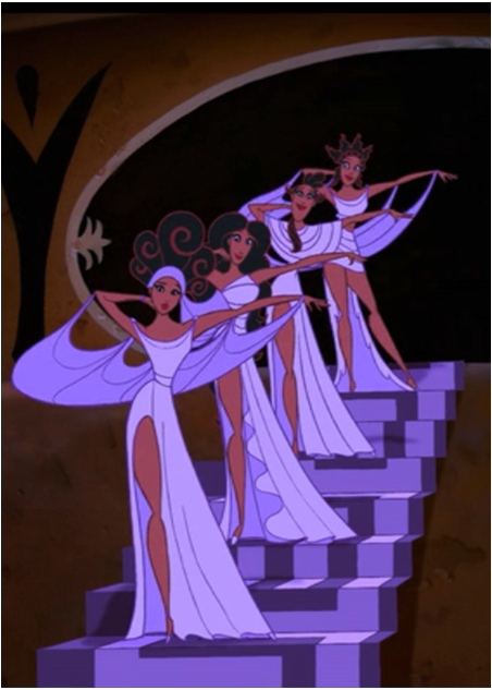 the muses the second best thing about this movie the first one