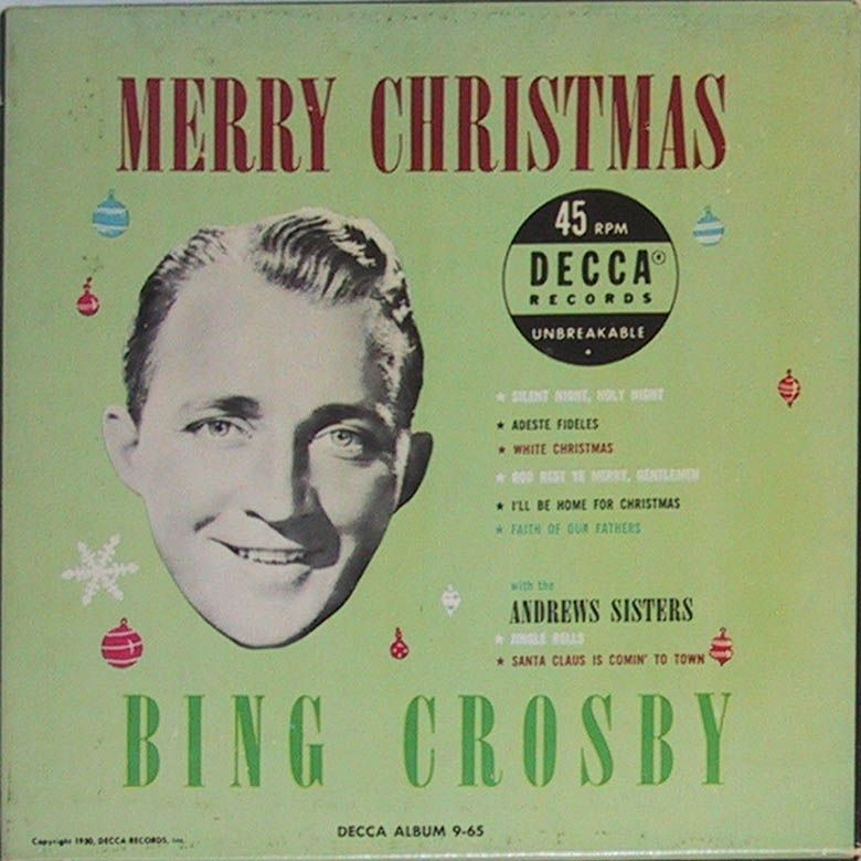 wish you merry christmas 45cat bing crosby merry christmas decca usa - Bing Crosby I Wish You A Merry Christmas
