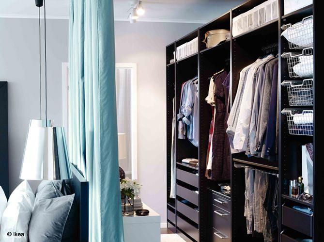 8 astuces pour d tourner ses rideaux dressing jolies et couleurs. Black Bedroom Furniture Sets. Home Design Ideas