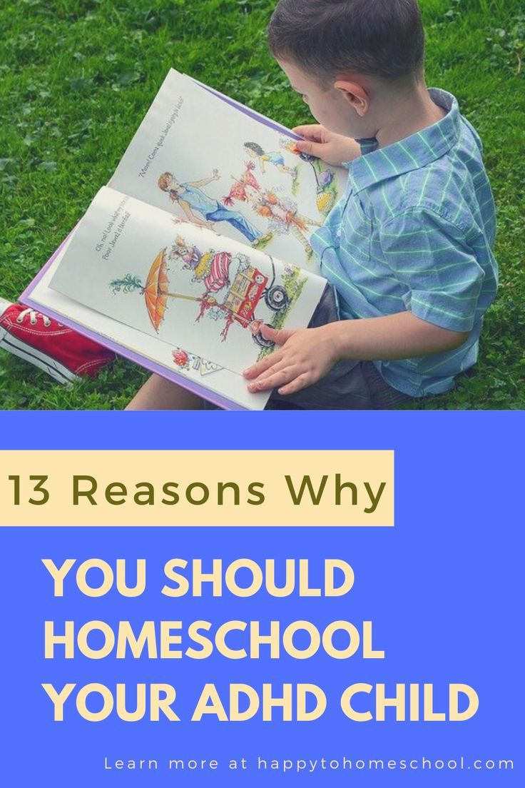 Why You Should be Homeschooling Your ADHD Child - Happy to Homeschool