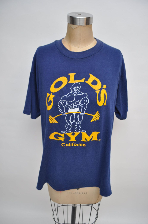 Vintage Tshirt Vintage T Shirt Golds Gym California Early 1990s Oversized Boyfriend Fit Vintage Tshirts Shirts T Shirt