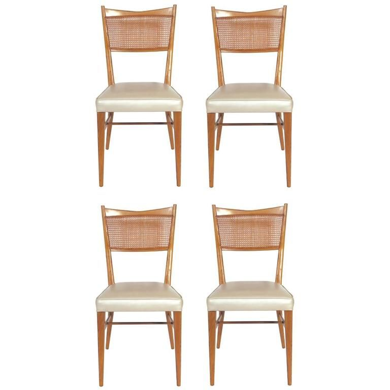 Set Of Four Dining Chairs By Paul Mccobb 1 Chair Dining Chairs Dining Set of four dining chairs