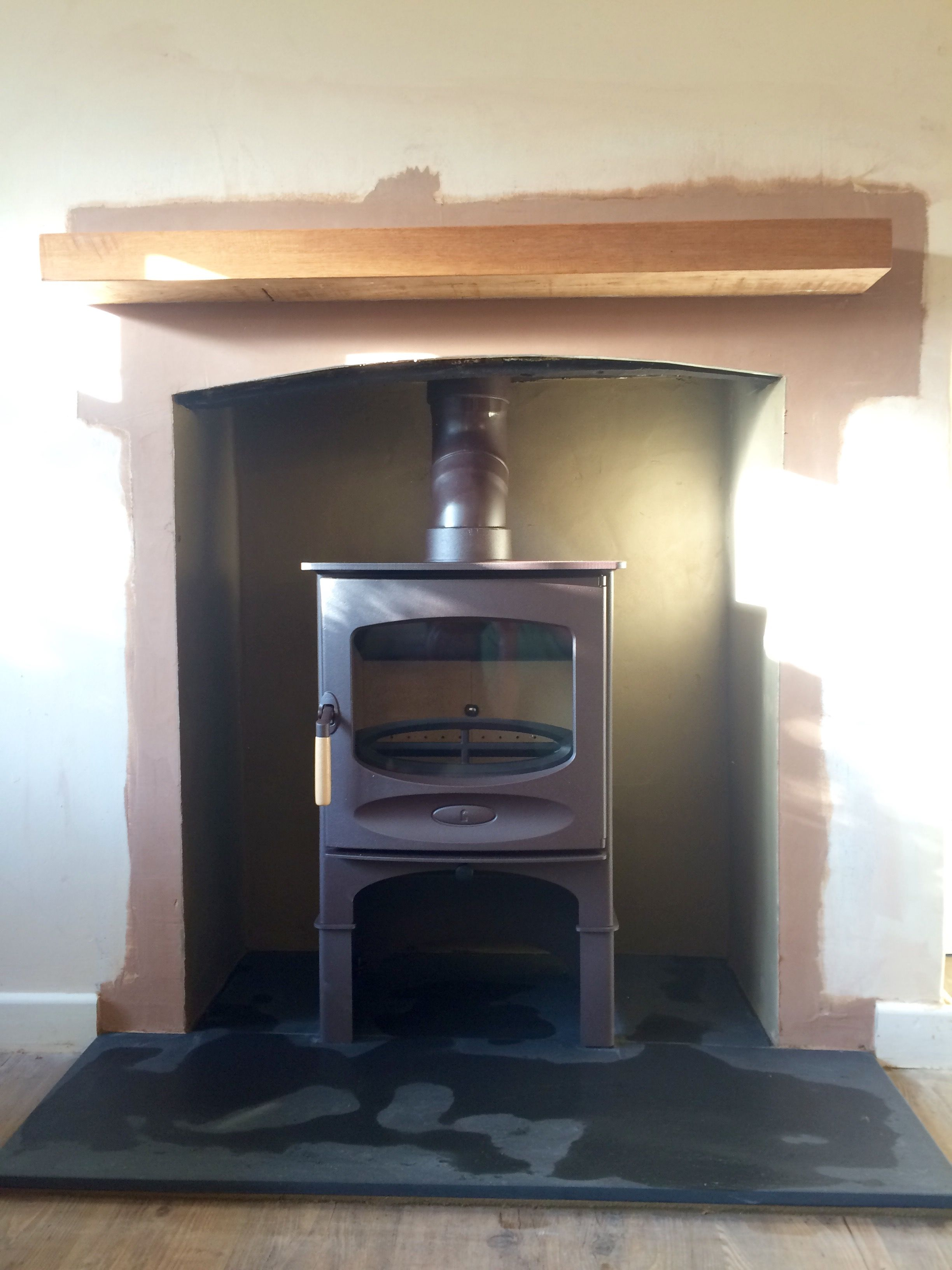 http www colnestoves com charnwood c5 with log store on a honed