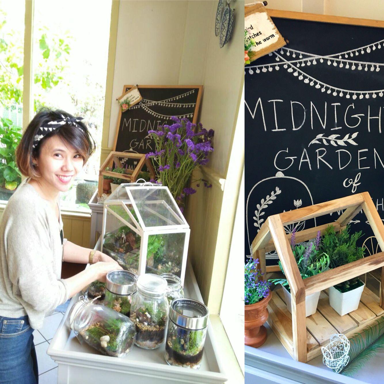 Midnight Garden Terrarium Line for order : poommy19