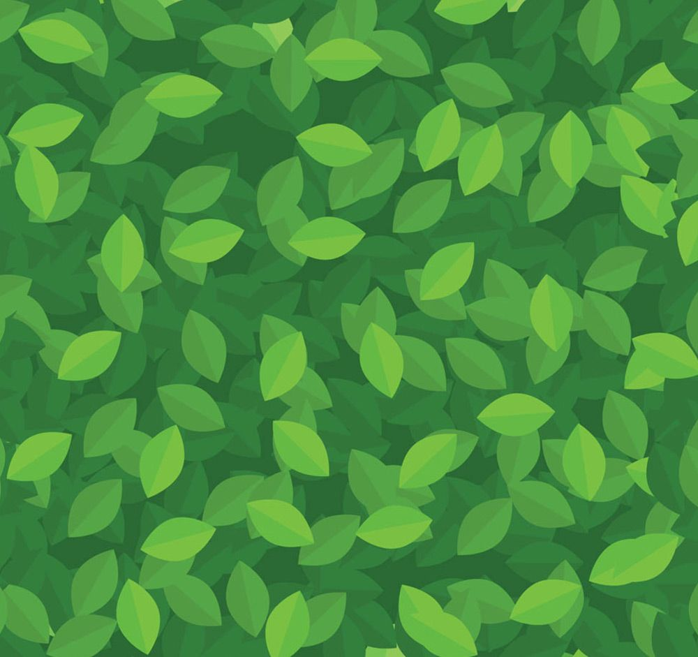 Green Leaves Pattern Roll | 2d | Pinterest | Leaves ...