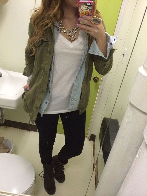 20 Style Tips On How To Wear Military or Utility Jackets | White ...