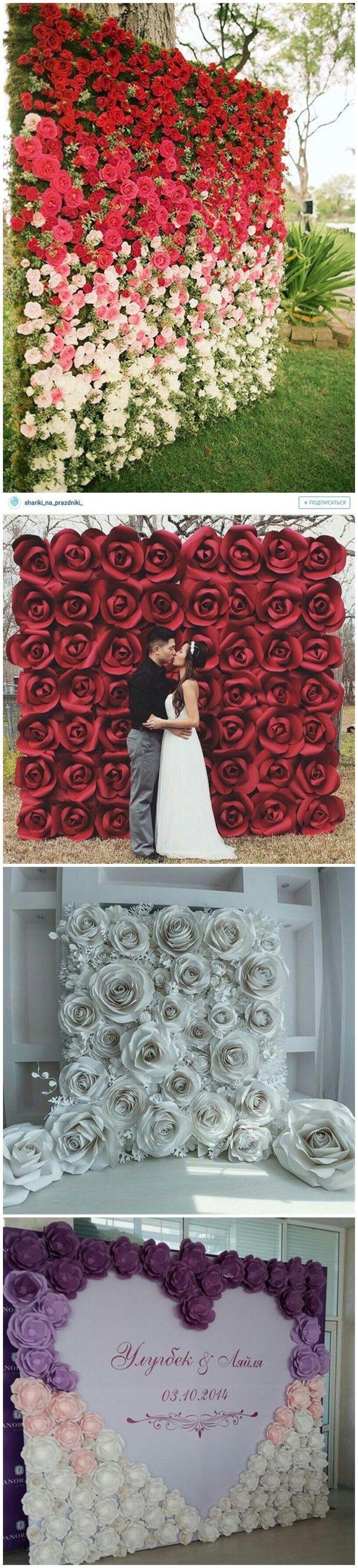 30 Unique and Breathtaking Wedding Backdrop Ideas Breathtaking wedding Wedding backdrop