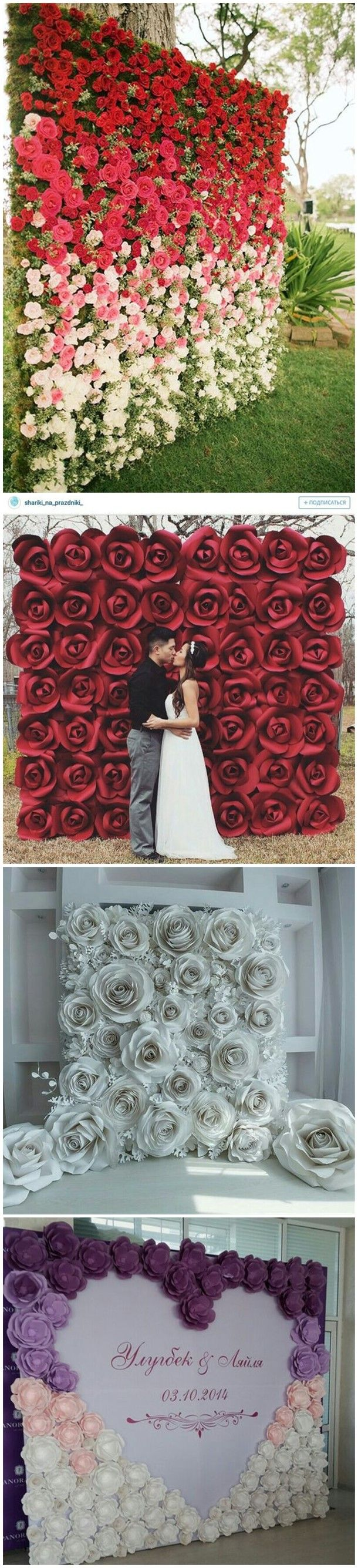 30 Unique and Breathtaking Wedding Backdrop Ideas | Pinterest ...