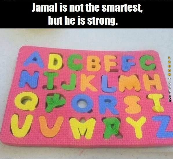 Jamal is not the smartest