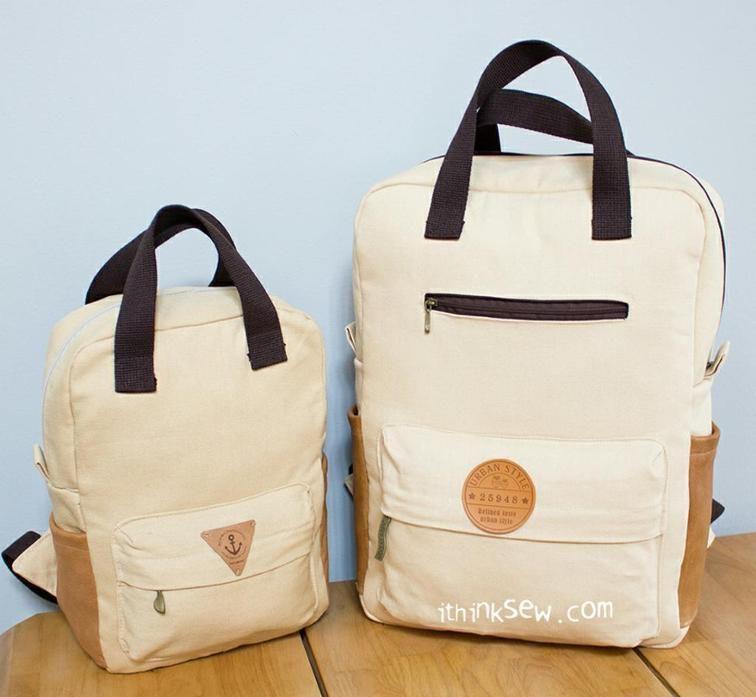775 Vicky Adult Backpack PDF Pattern   Mochilas