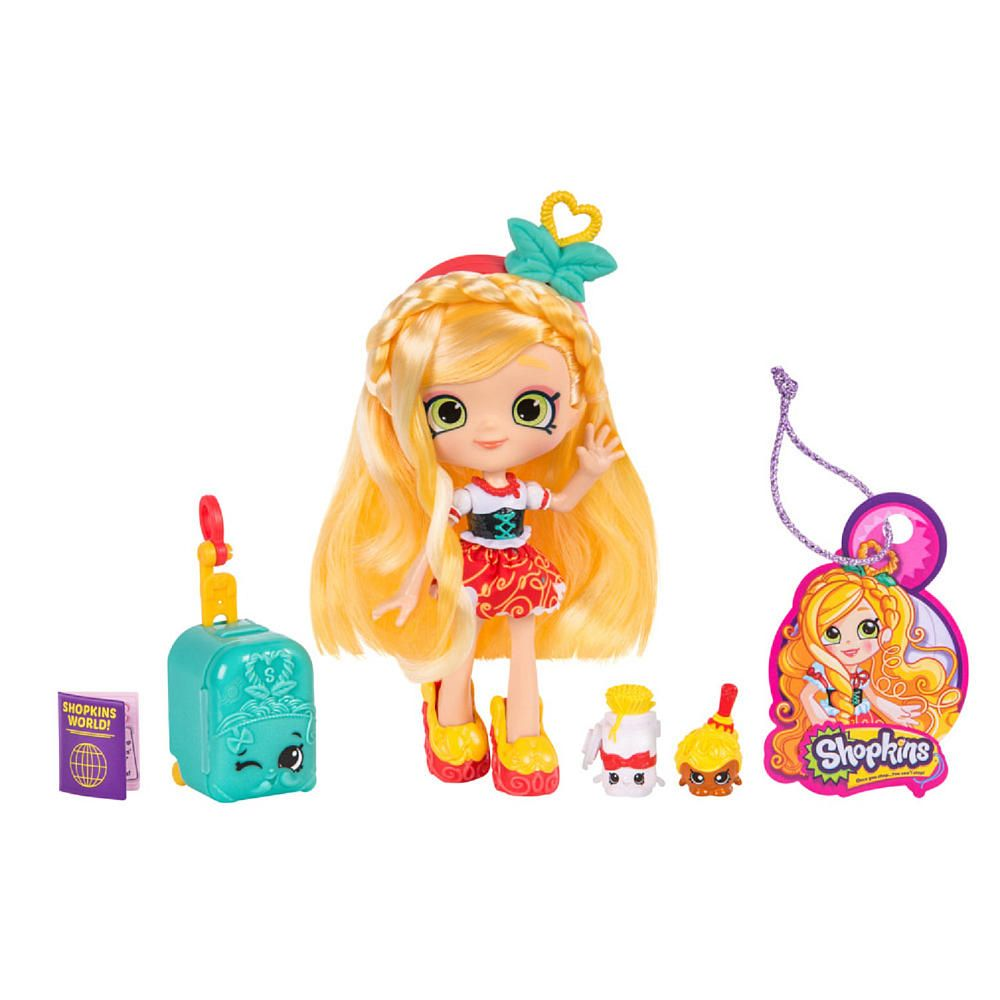 Shopkins Shoppies World Vacation Doll - Spaghetti Sue | Shopkins ...