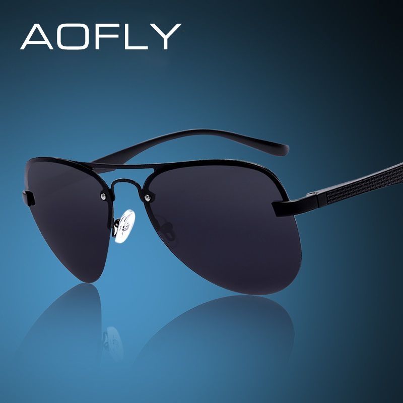 976f684da8 AOFLY Fashion Sunglasses Male Polarized Driving Sun Glasses Men Brand  Design Fishing Sports Glasses With Original
