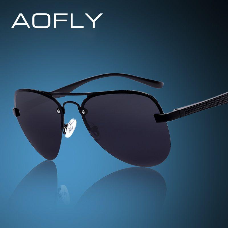 660e8d5ca151 AOFLY Fashion Sunglasses Male Polarized Driving Sun Glasses Men Brand  Design Fishing Sports Glasses With Original