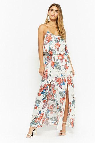 d7c610a62bb Floral Flounce Maxi Dress. Floral Flounce Maxi Dress Women Brands ...