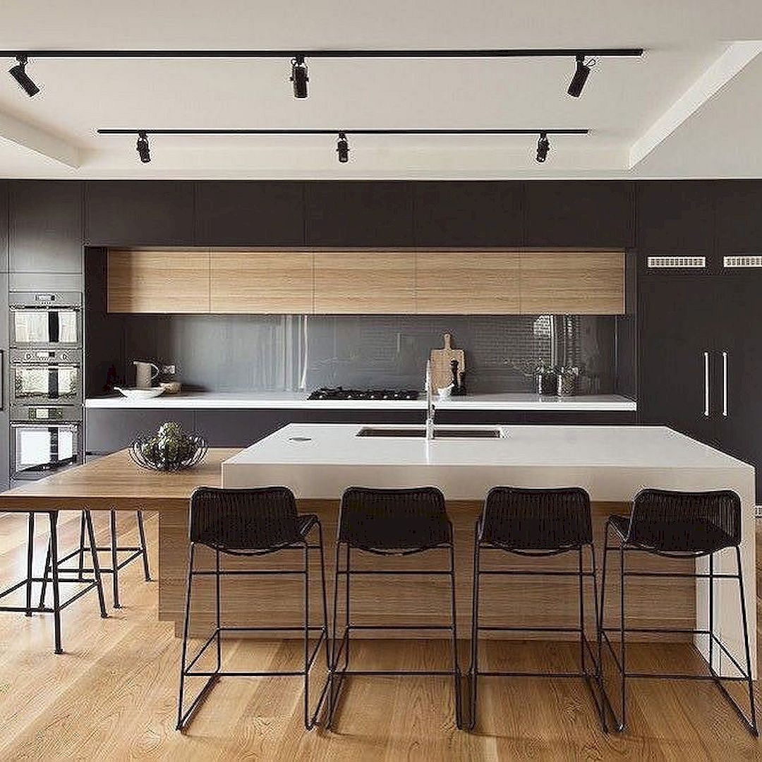 Perfectly designed modern kitchen inspirations 165 photos