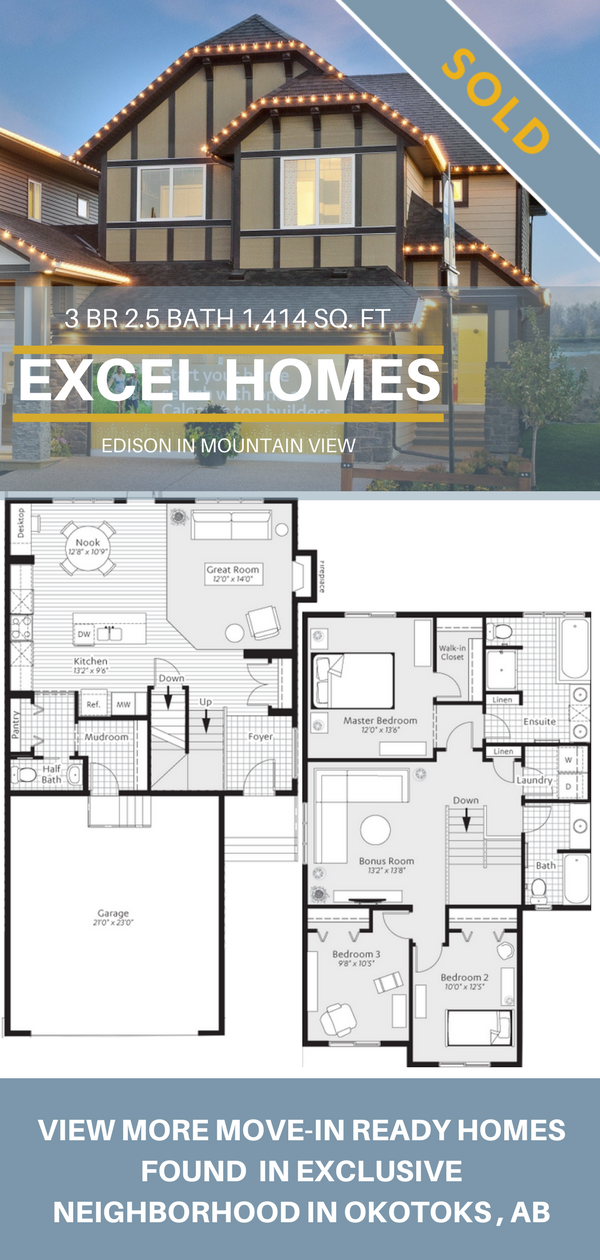 2 Story Floor Plans 3 Bedroom 2 5 Bedroom Floorplans View More Homes From Excel Homes Floor Plans House Blueprints 3 Bedroom Home Floor Plans