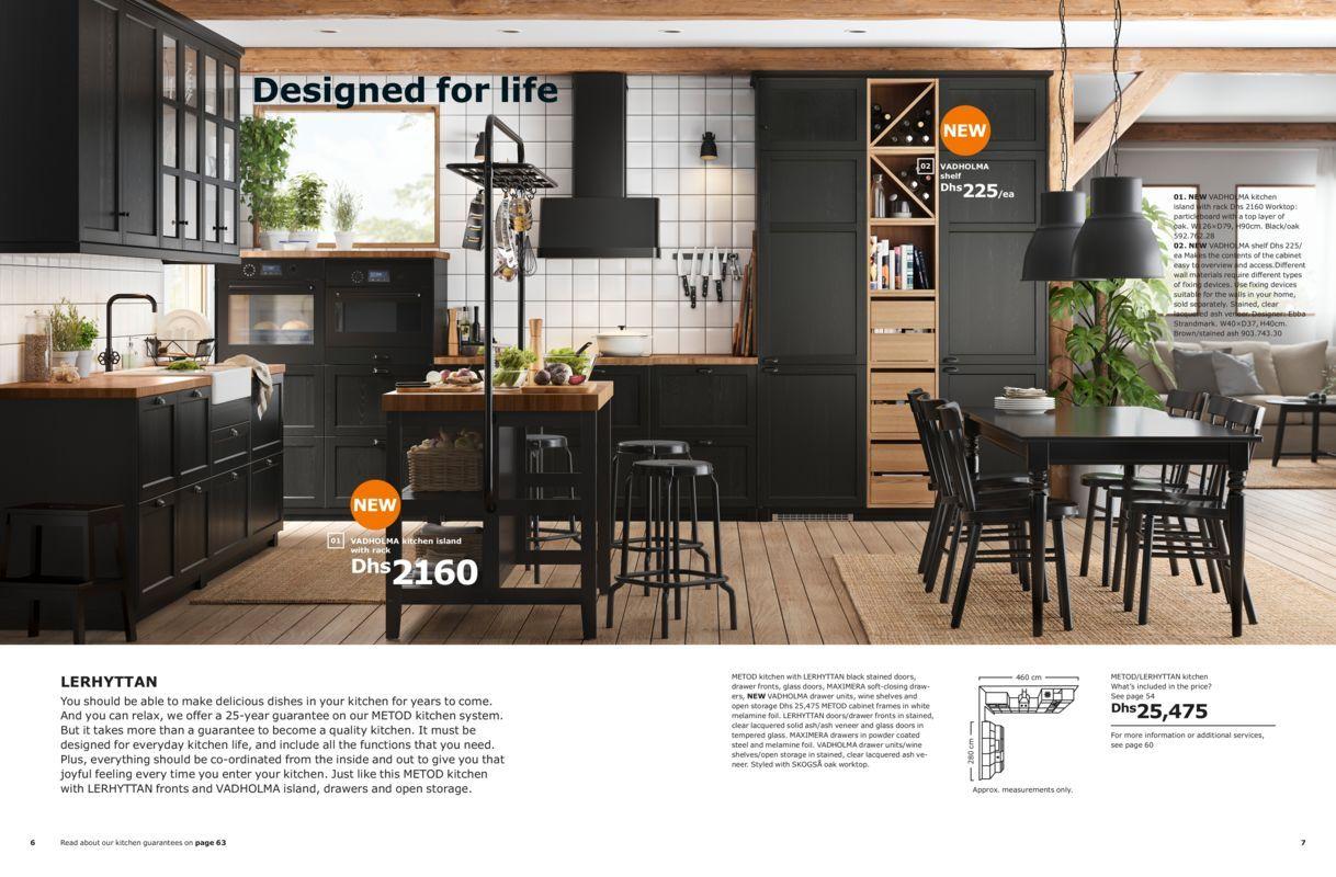 Designed For Life Ikea Kitchens Brochure 2019 Cuisine Ikea Ikea Interior Ikea Kitchen
