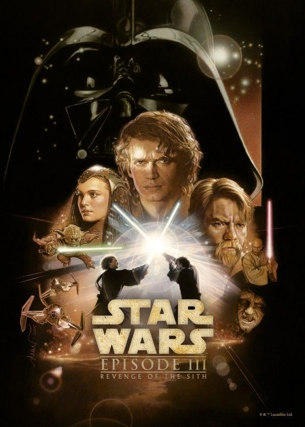 Revenge of the Sith by Star Wars | metal posters