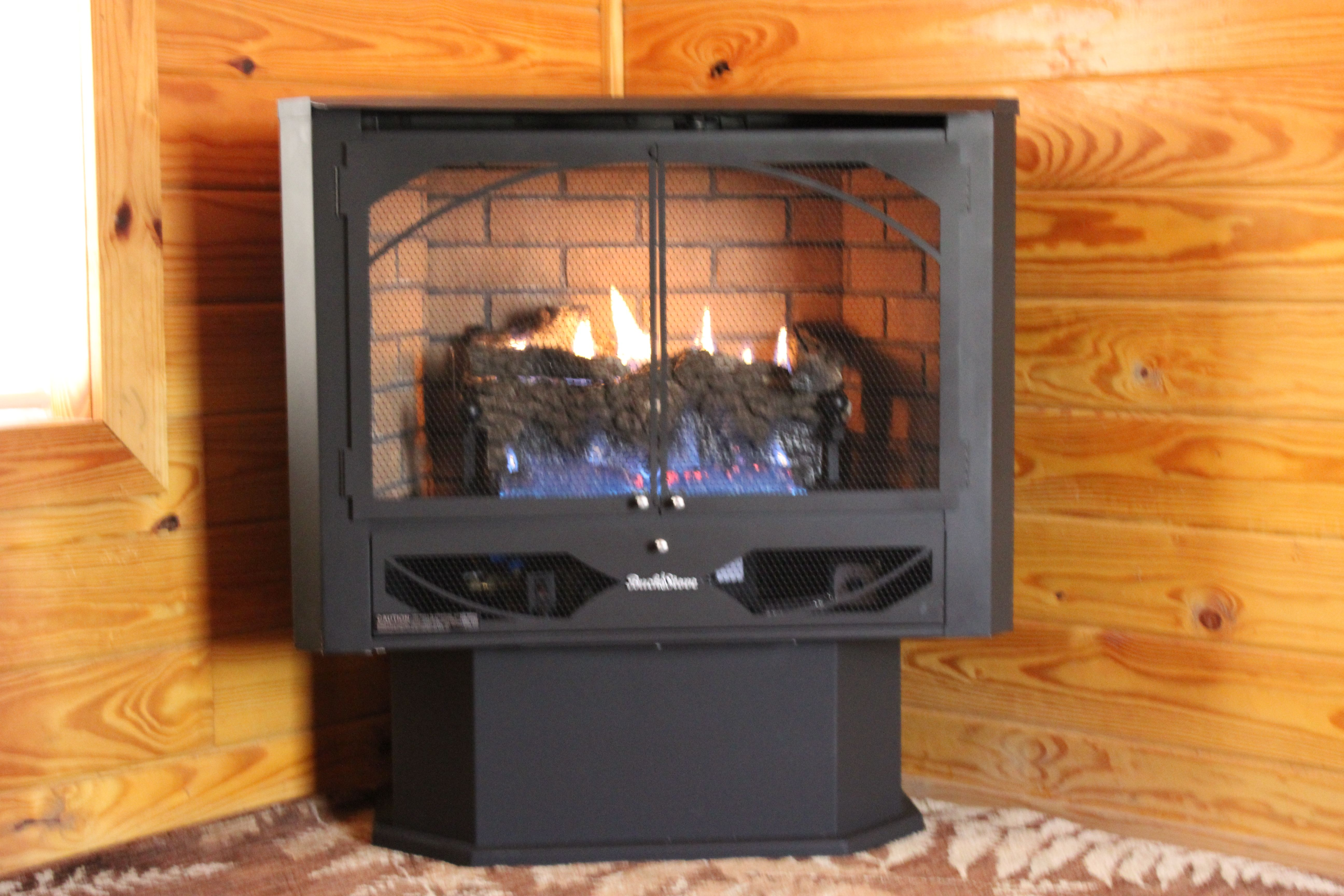 Buck Model 384 Gas With Images Buck Stove Home Appliances