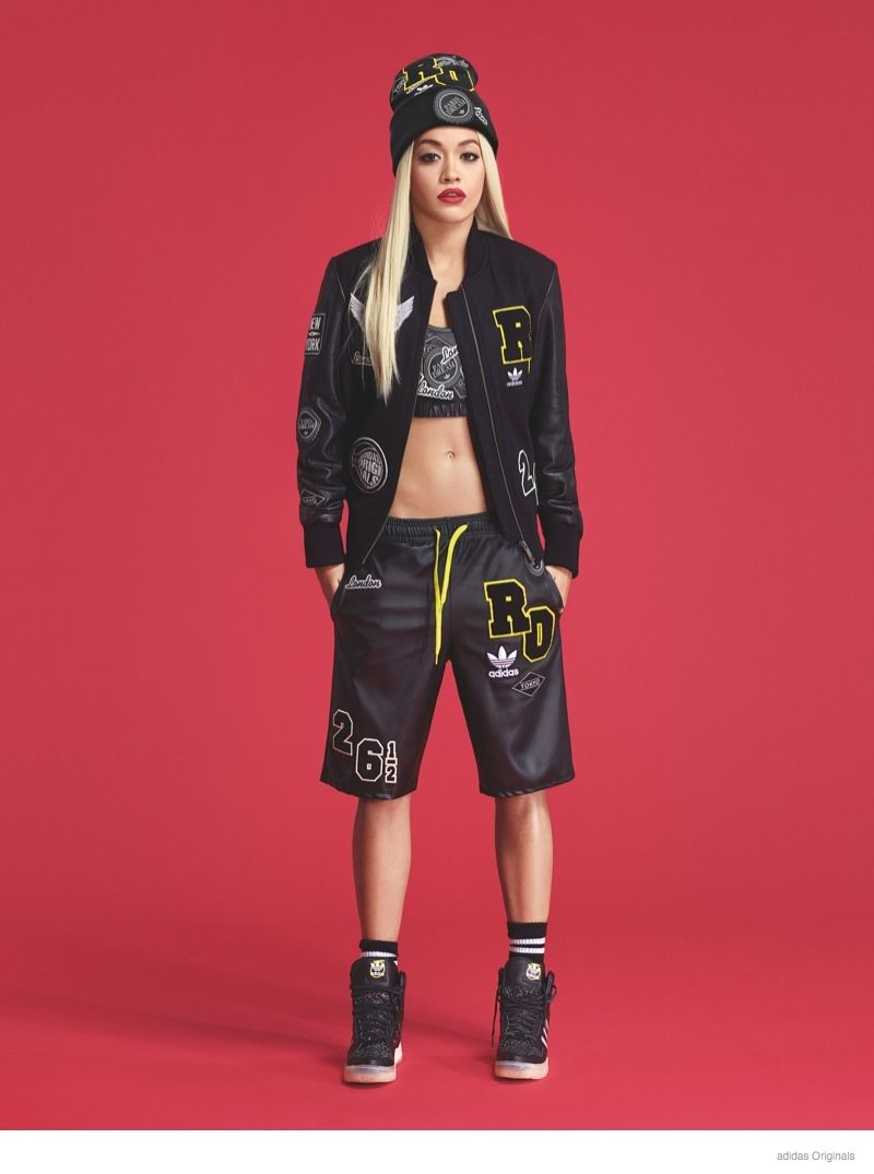 Preview: Rita Ora Poses in Beanie, Logos for adidas Originals Collaboration