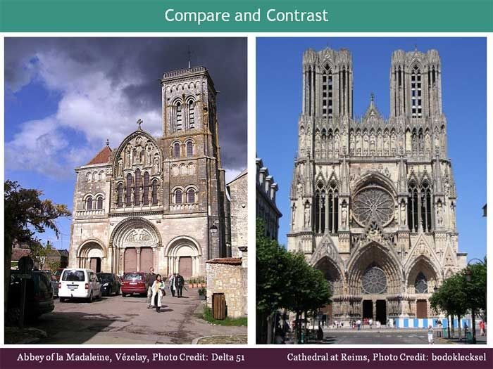 3 creative ways to teach gothic architecture pinterest gothic the art curator for kids compare and contrast romanesque and gothic architecture lessons toneelgroepblik Choice Image