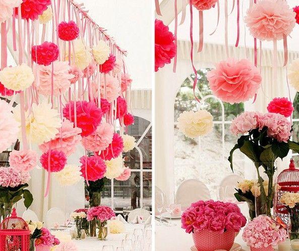Paper Flowers Ball Paper Peony Bouquet Garland Wedding Props Best Paper Flower Ball Decorations