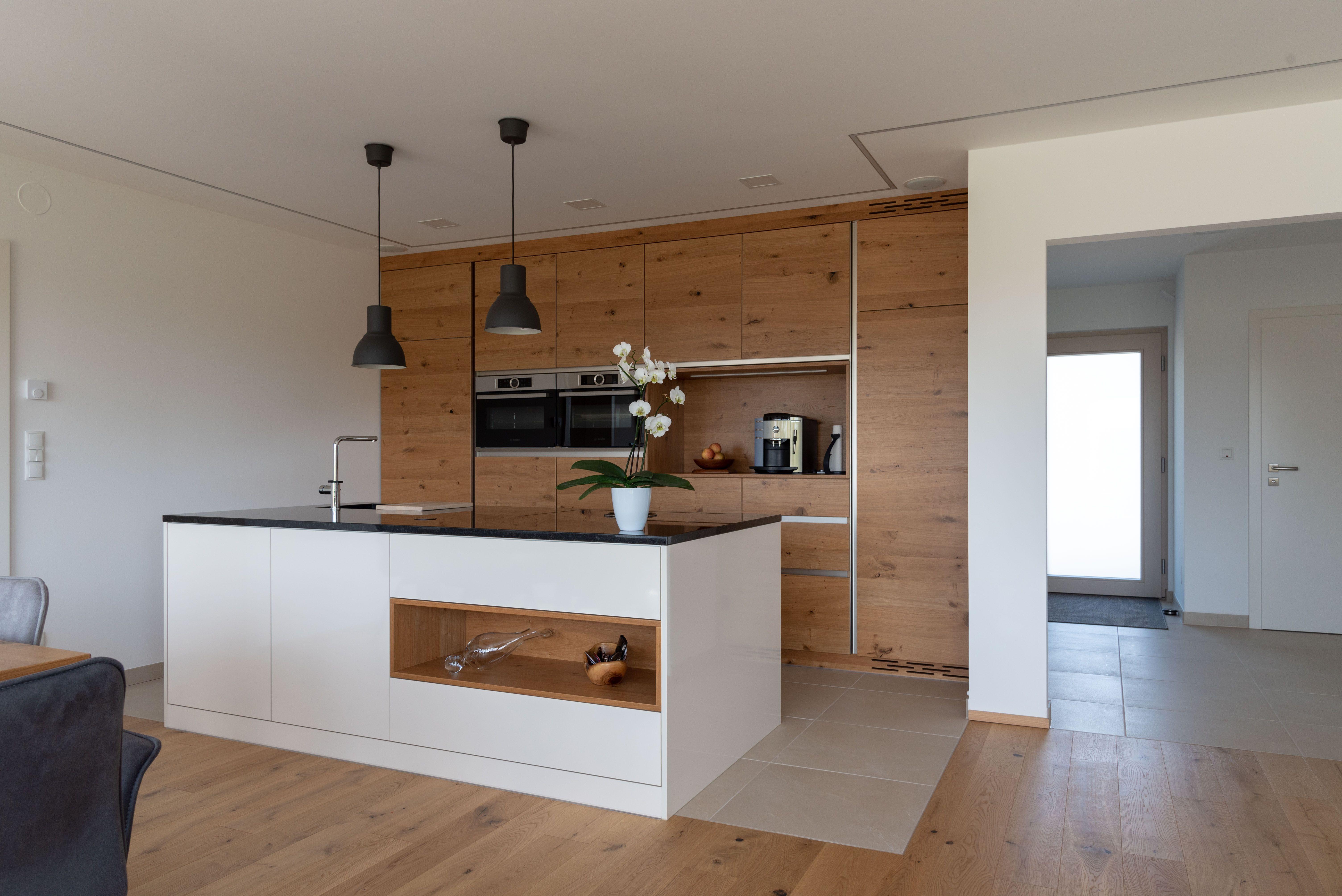 moderne küche erstellt von unseren hartltischlern
