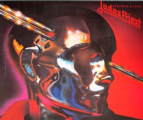 Great Vinyl on http://www.vinylrecords.ch this is album cover photo of JUDAS PRIEST - Stained Glass