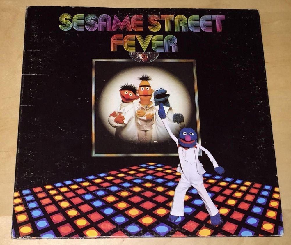 Sesame Street Fever 33 rpm Record LP Vinyl 1978 C Is For Cookie Rubber Duckie
