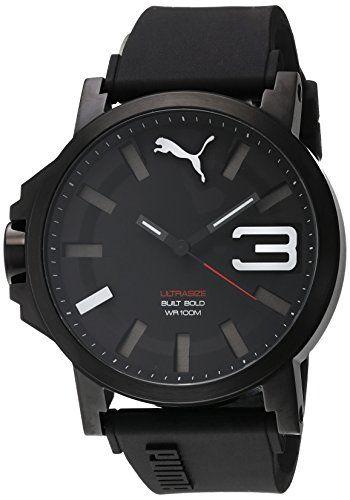 Men S Wrist Watches Puma Ultrasize 50 Bold Mens Water Resistant