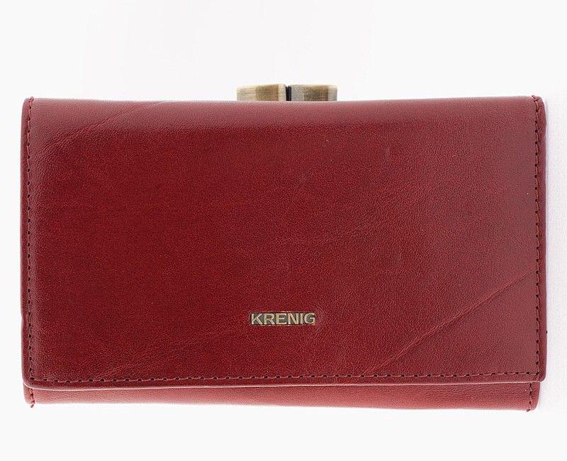 Krenig el dorado red womens wallet with a bigiel 11022