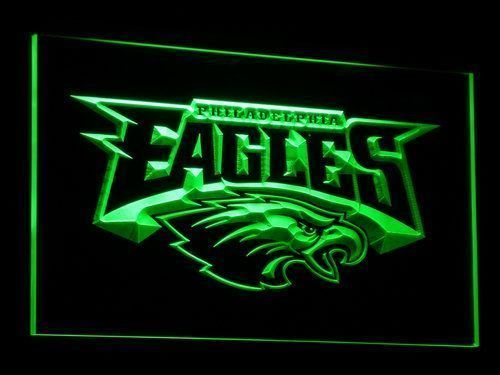 Led Sign Home Decor Impressive Philadelphia Eagles Signs Led Signs Neon Signs Home Man Cave Decor Design Inspiration