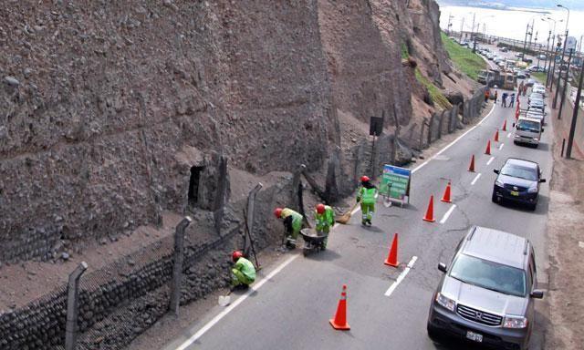 Costa Verde será cerrada esta tarde por simulacro
