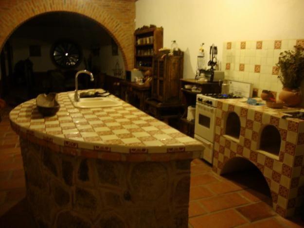Casa mexicana estilo hacienda zapopan tesistan for Cocinas rusticas mexicanas