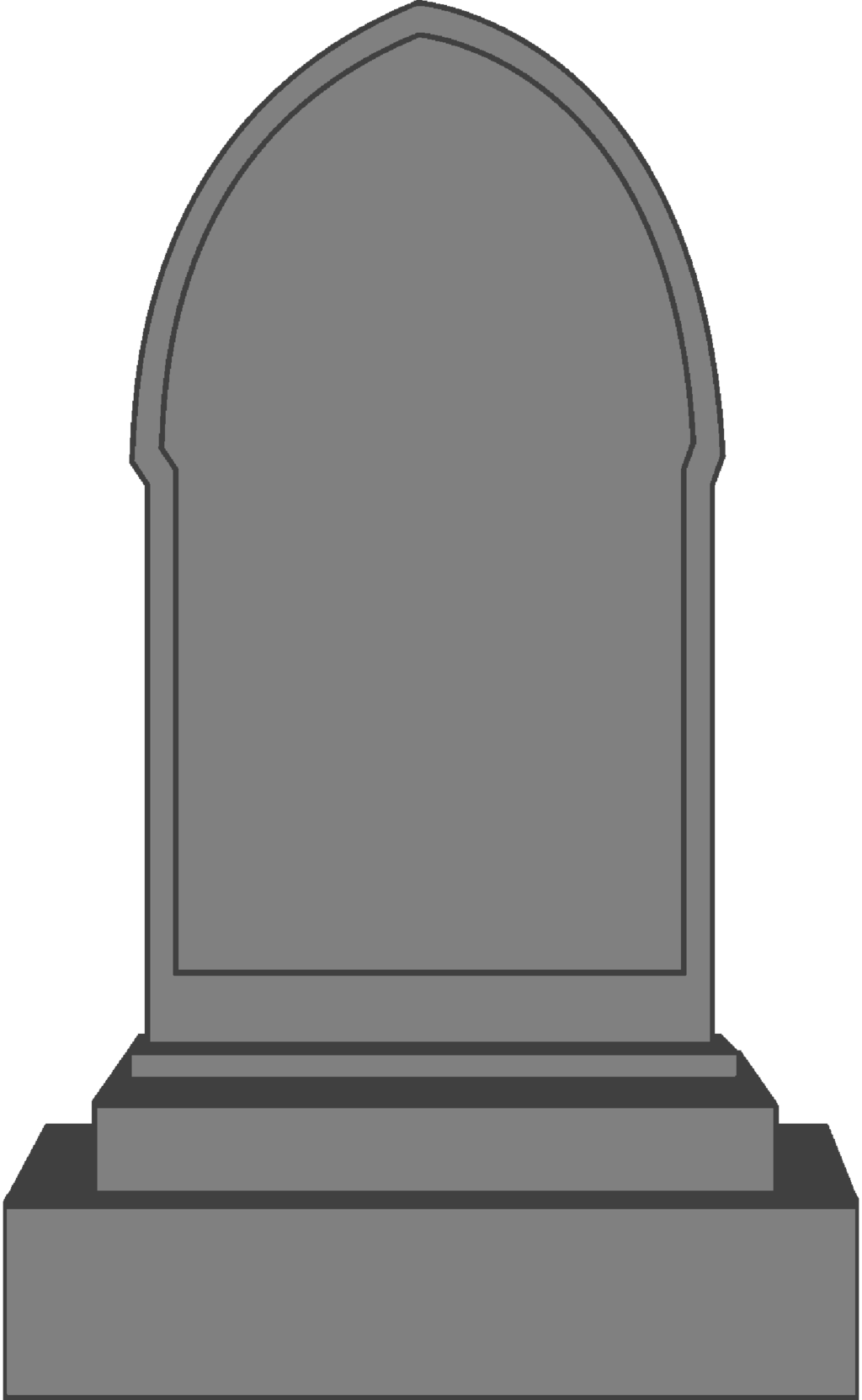 Gravestone Png Image Gravestone Tombstone Stele