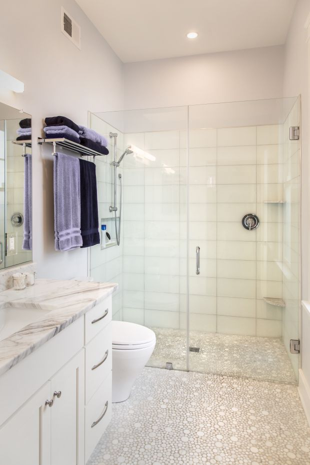 Our House Small Master Bath Shower Remodel House Bathroom