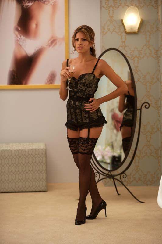 Eva Mendes Pantyhose Scene