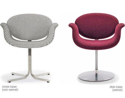 little tulip chair Design Pierre Paulin 1965 Upholstered shell