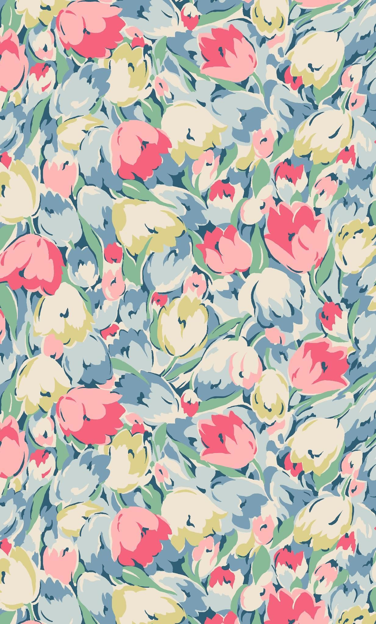Painted Tulips | Experimenting with different drawing styles and new ...