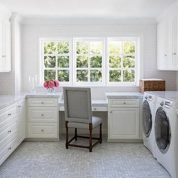 Laundry room and office combo ideas laundry inspired for Laundry room office