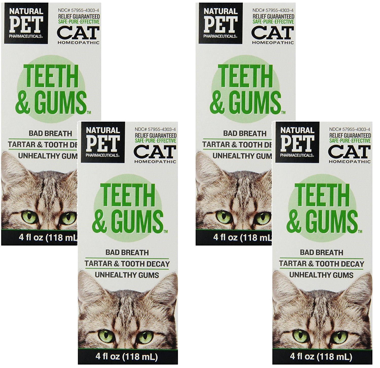 Cat Teeth and Gums 4oz *** You can get more details by